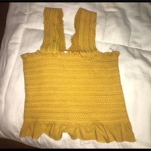 Yellow Pacsun Crop Top!!!